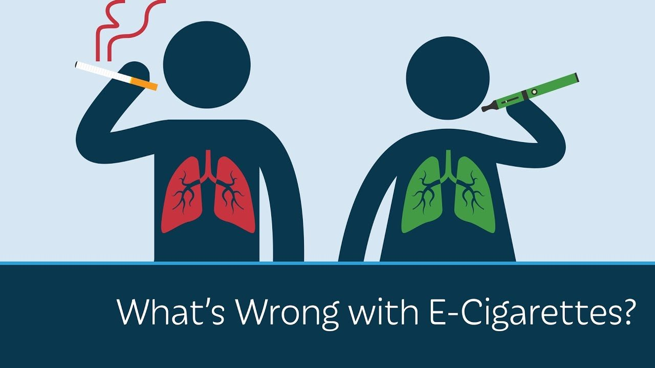 e-cigarette or smoking